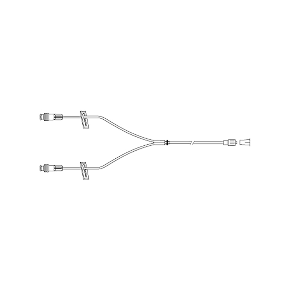 BD Y Connector Smartsite 2 Way - 23cm