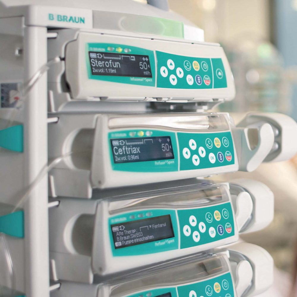 Veterinary infusion pump bbraun infusomat
